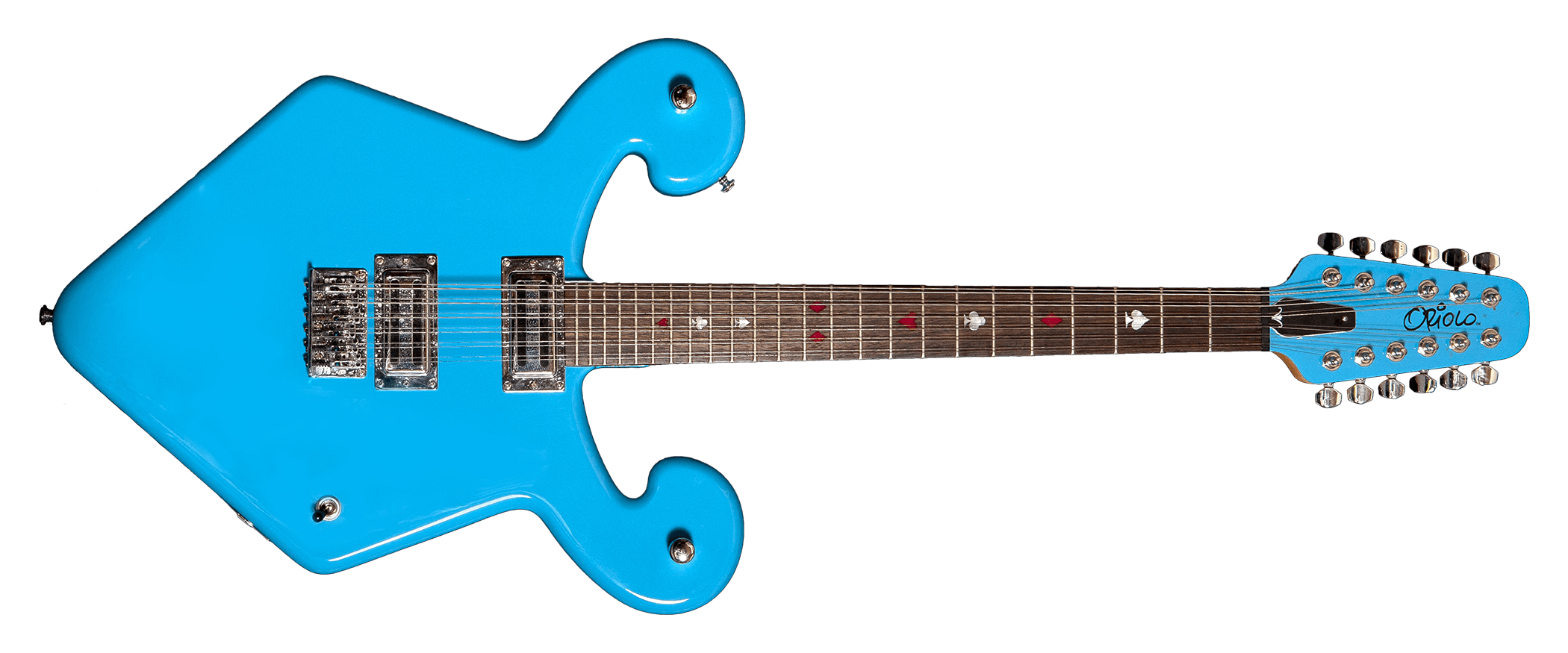 Wizard 12-String Light Blue