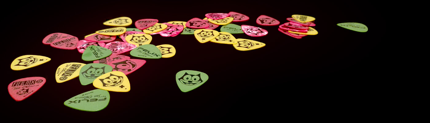 Felix the Cat Guitar Picks
